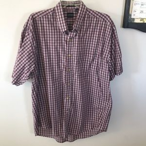 Men's large short sleeve button down shirt